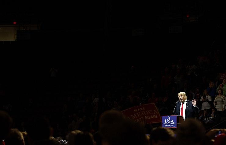 "Donald Trump at the ""Thank You"" rally in Cincinnati, Ohio"