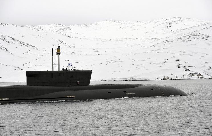 Vladimir Monomakh nuclear-powered submarine