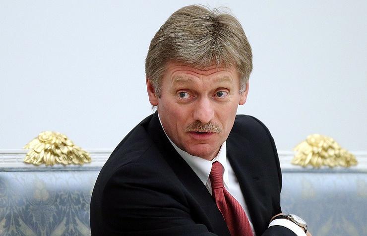 Russian president's spokesman Dmitry Peskov
