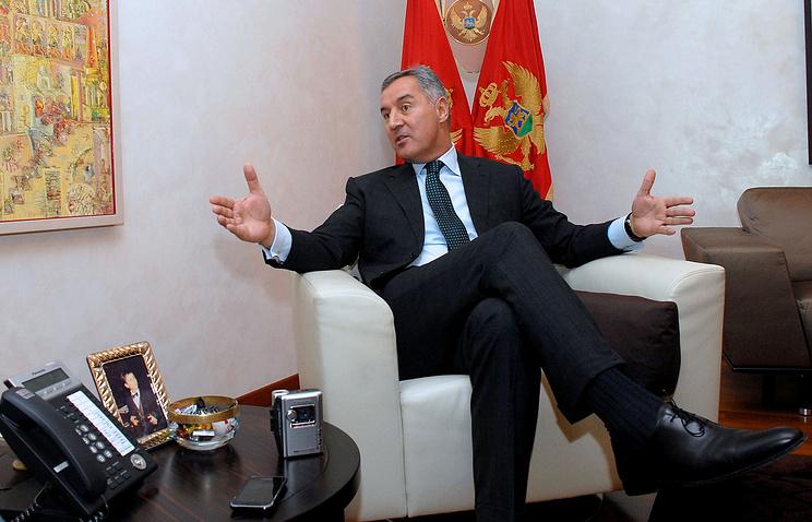 Montenegro's former Prime Minister, Milo Djukanovic