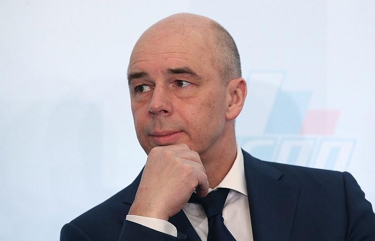 Finance Minister Anton Siluanov