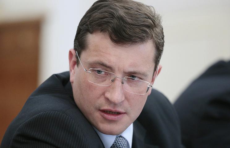 Russia's First Deputy Minister of Industry Gleb Nikitin