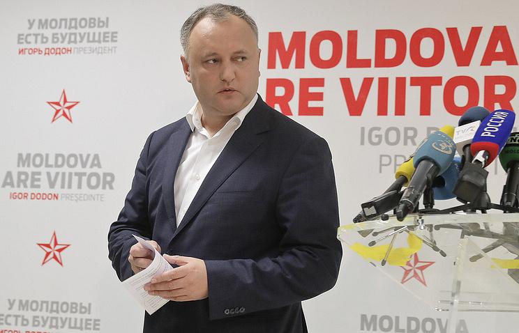 Moldova President Igor Dodon