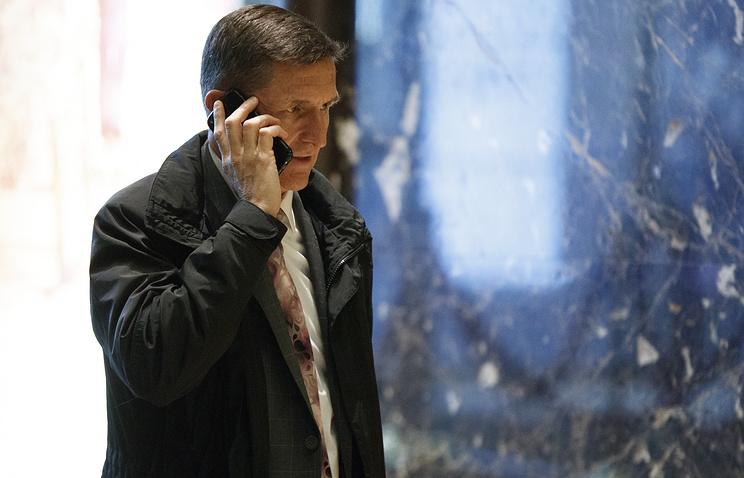 US President Donald Trump's national security advisor Michael Flynn