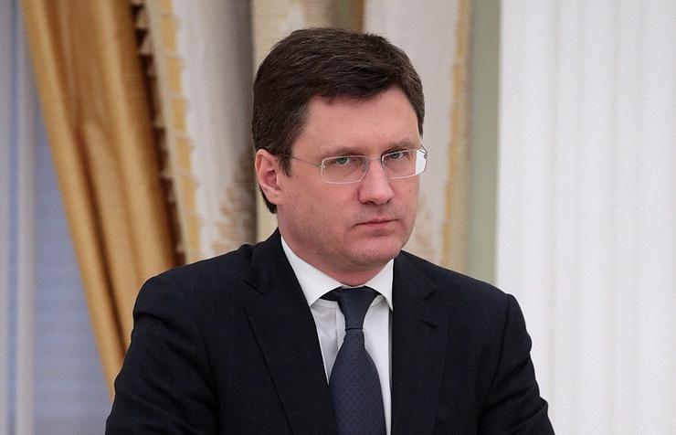 Russia's Minister of Energy Alexander Novak