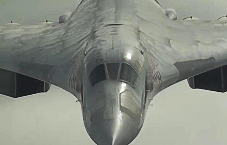 Tupolev-160 bomber