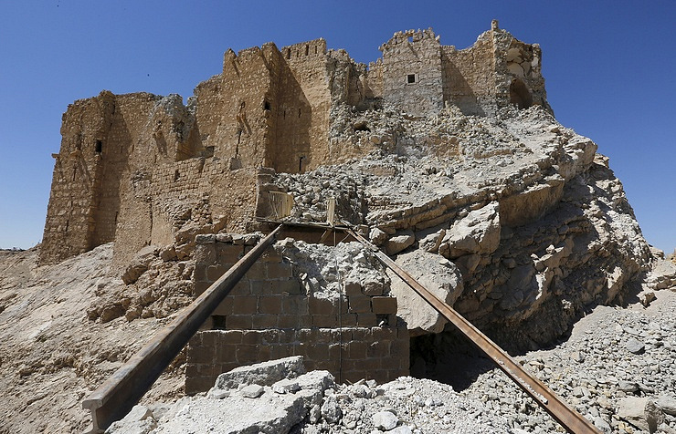 The fortress of Emir Fakhreddine