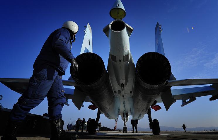 Sukhoi-35S fighter jet