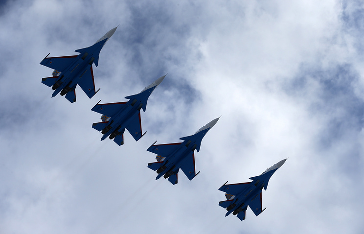 Sukhoi-30SM fighters