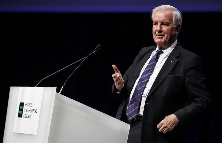President of World Anti-Doping Agency Craig Reedie