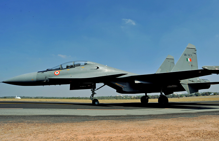 Indian Air Force's Su-30MKI fighter jet