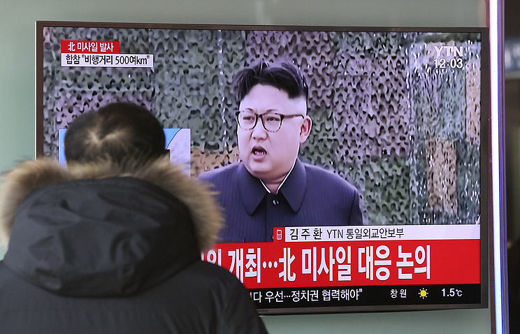 Leader Kim Jong Un attends test of new North Korean rocket engine