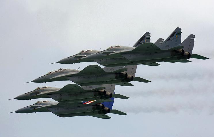 MiG-29N fighter jets