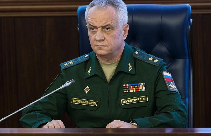 Lieutenant-General Viktor Poznikhir