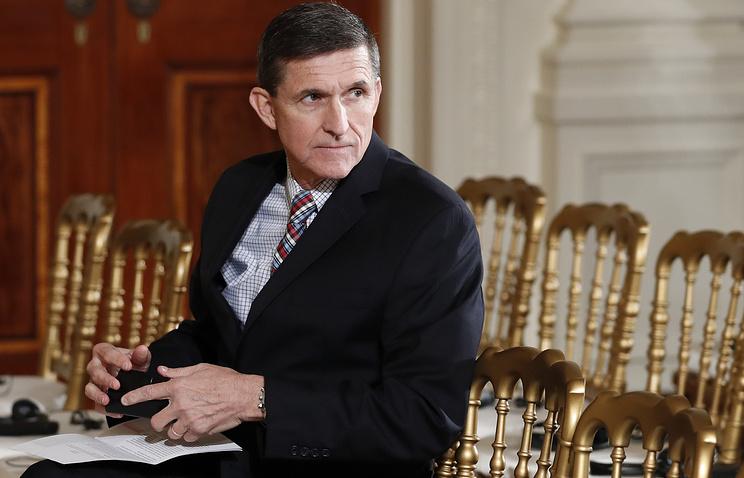 Former US National Security Adviser Michael Flynn