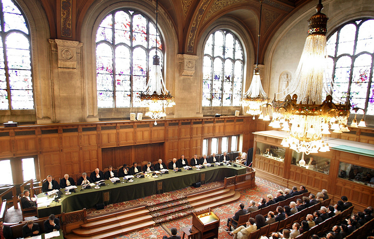 UN International Court of Justice in The Hague