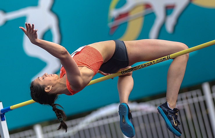 Mariya Lasitskene (Kuchina) of Russia