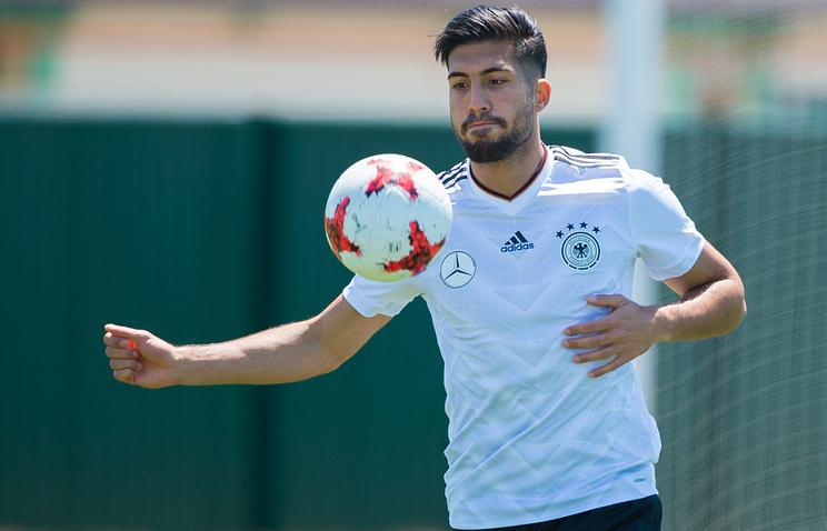 German midfielder Emre Can