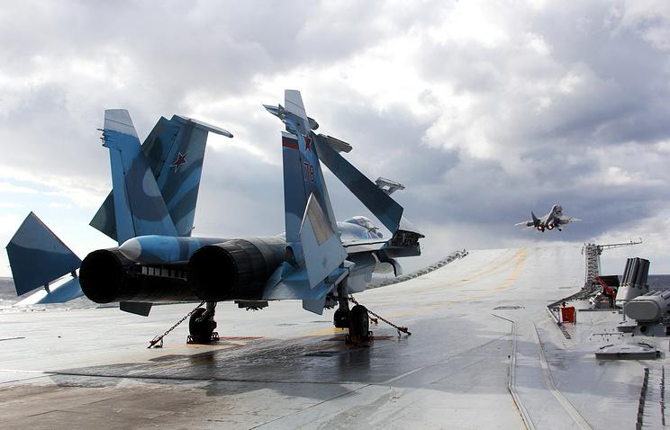 Su-33 fighter jet