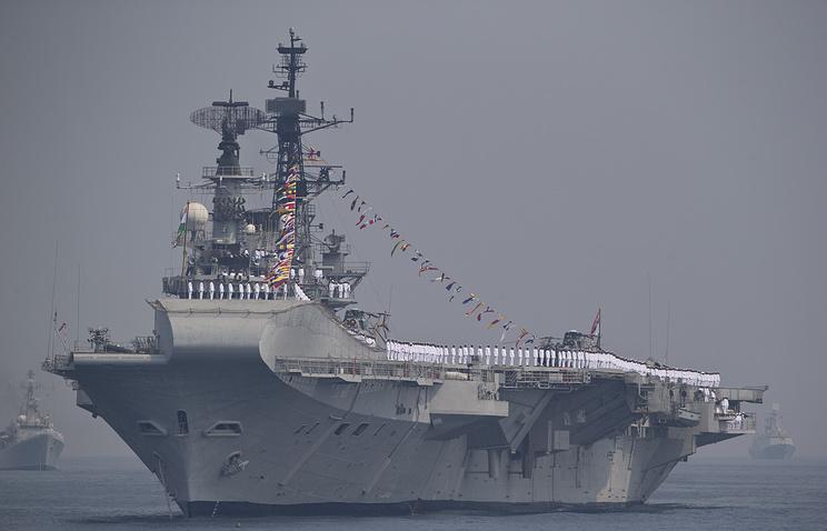 Indian aircraft carrier Vikramaditya