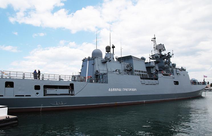 Admiral Grigorovich frigate