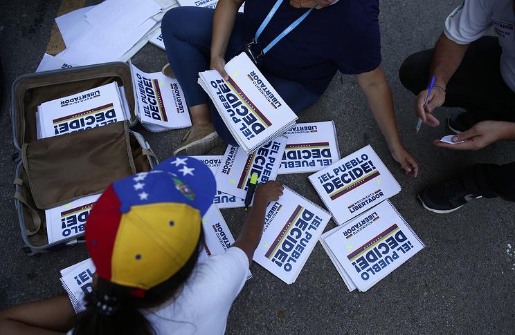Venezuela's Opposition To Vote On Symbolic Referendum Against Consitution Rewrite