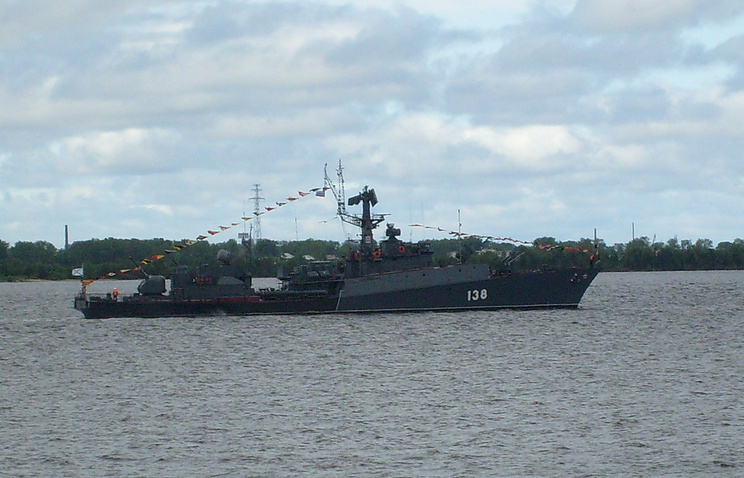 Naryan-Mar anti-submarine corvette