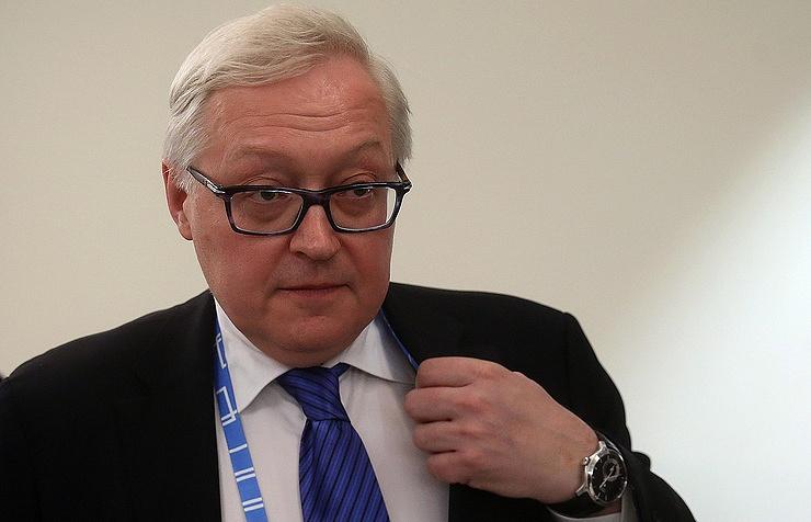 Russian Deputy Foreign Minister Sergei Ryabkov