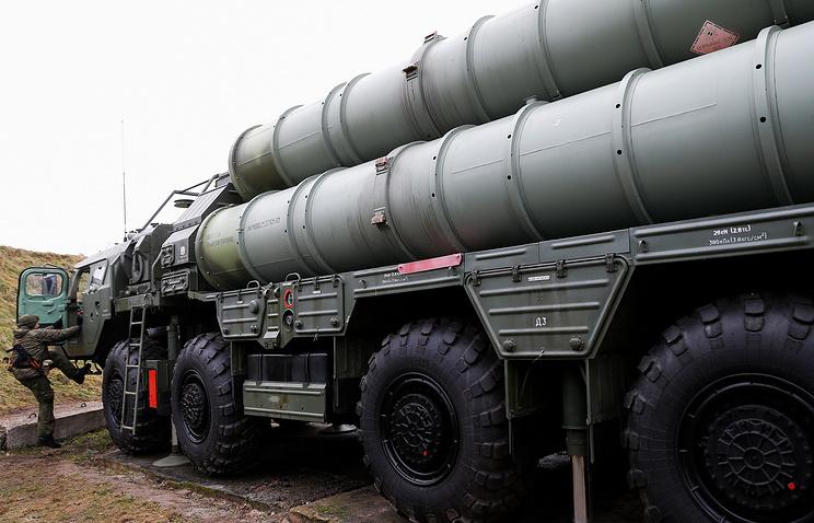 S-400 air defense systems