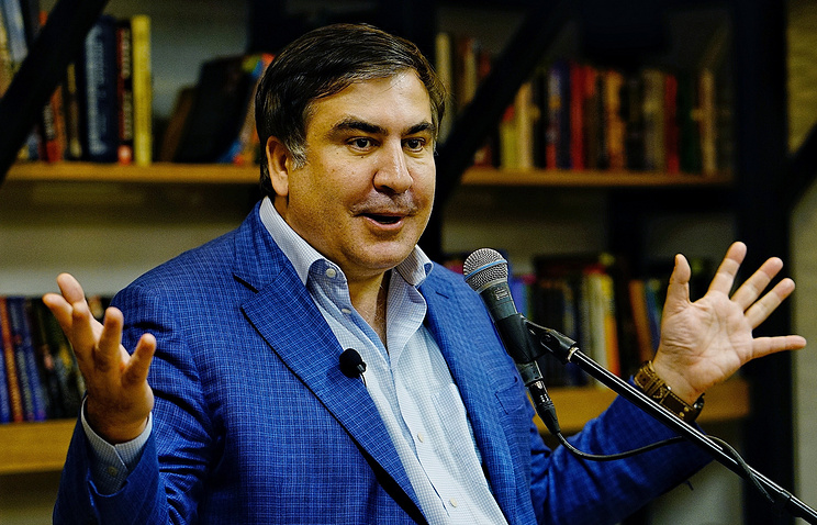 Former Georgian Leader Saakashvili Loses Ukrainian Citizenship