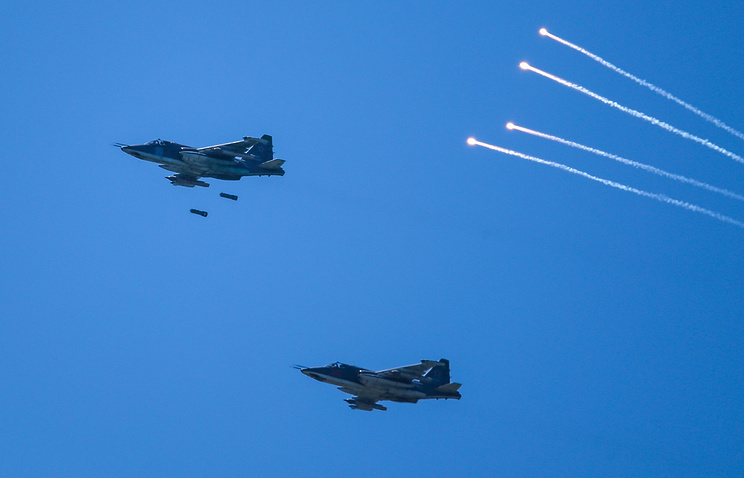 Su-25 planes