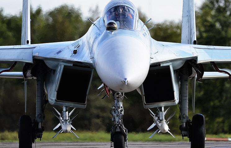 Sukhoi-27 plane