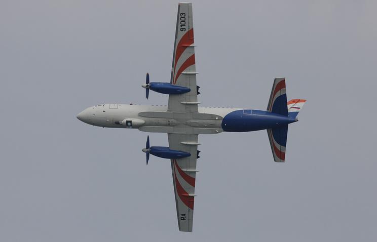 Ilyushin Il-114 plane