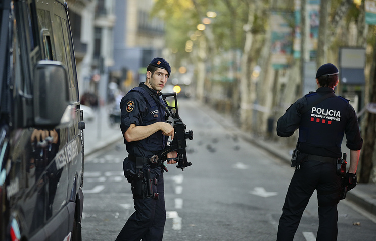 Hunt continues for terrorists involved in double attack in Spain