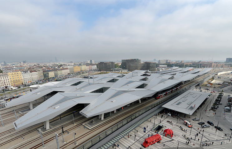 Vienna's Central Railway Station