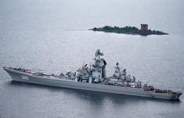 Pyotr Veliky missile cruiser