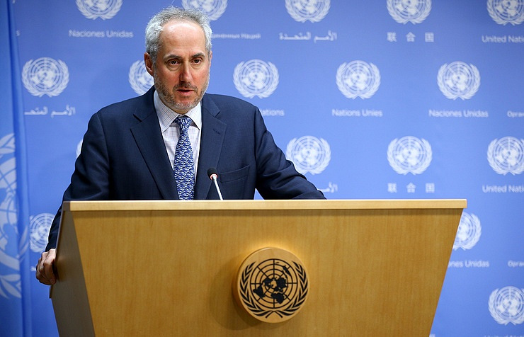 UN Secretary General spokesman Stephane Dujarric