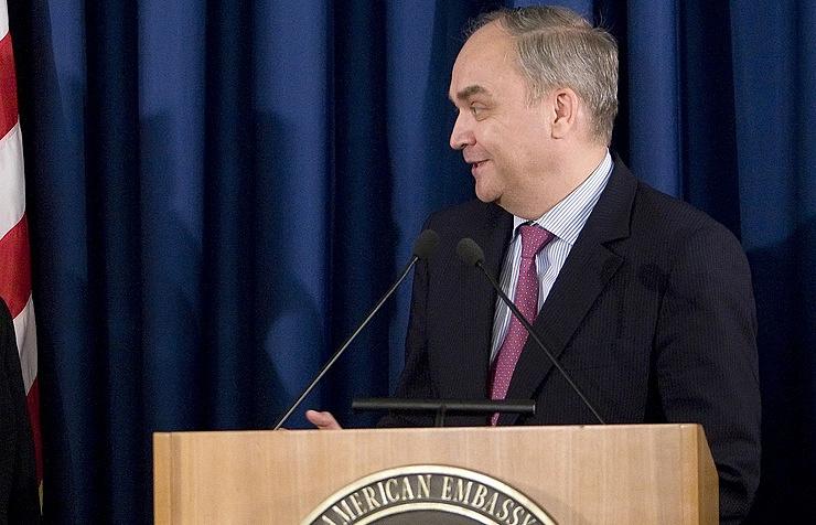 Russia's Ambassador to the United States Anatoly Antonov
