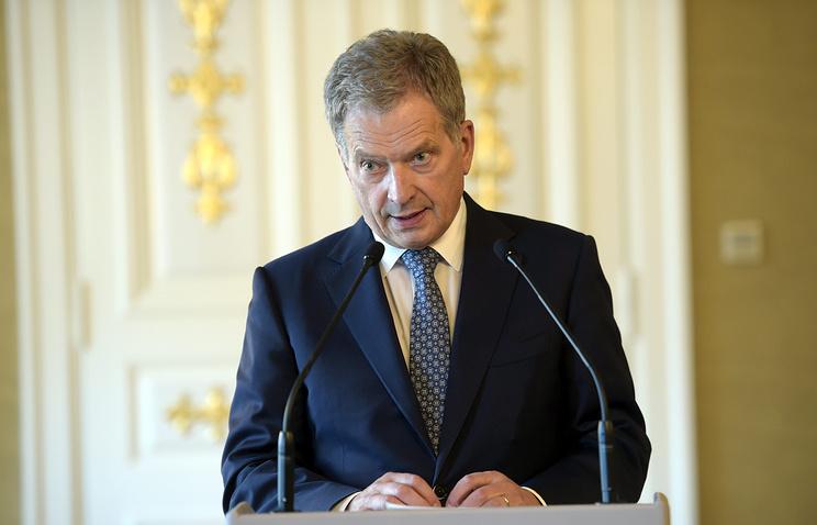 Finland's President Sauli Niinisto