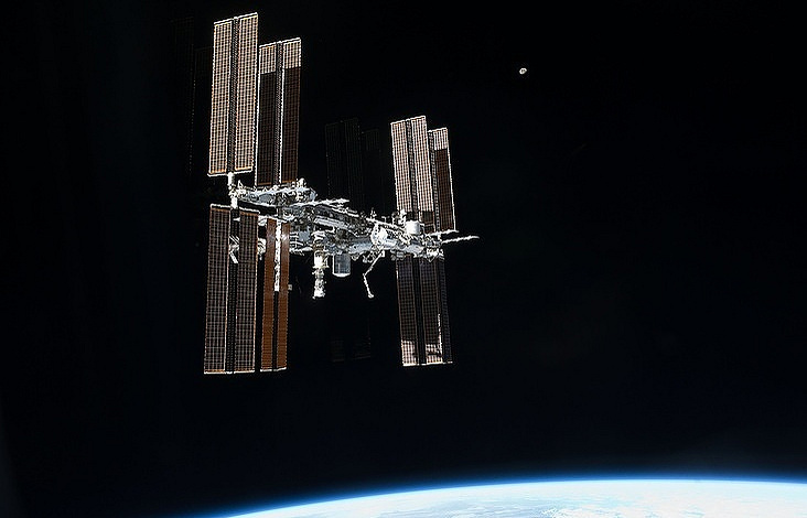 Americans, Russian dock with International Space Station
