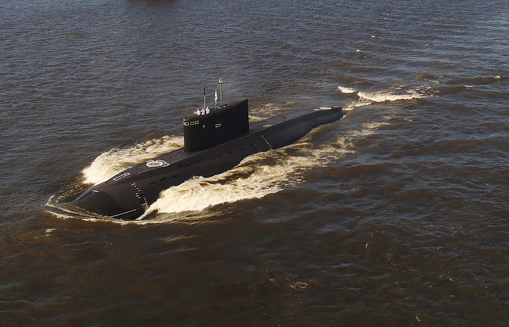 The Veliki Novgorod submarine