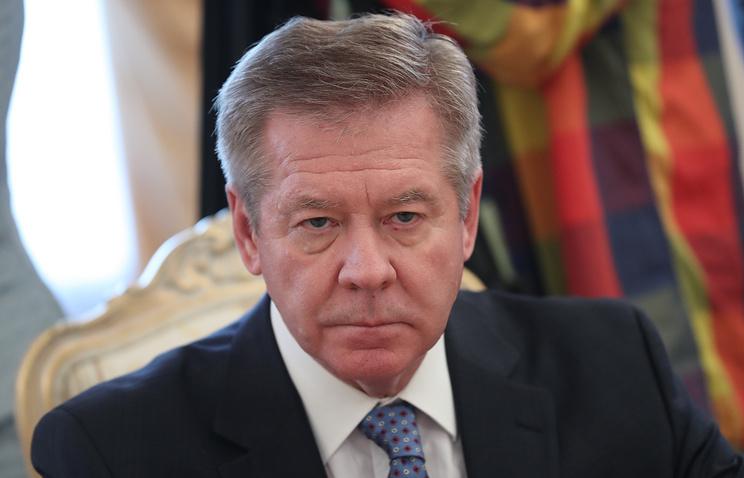 Russian Deputy Foreign Minister Gennady Gatilo