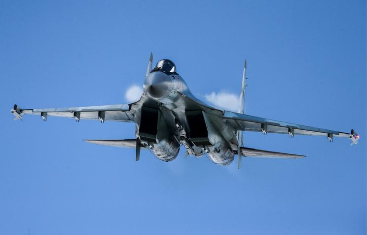 Su-35S fighter
