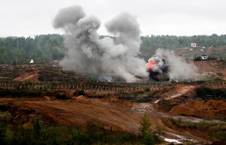 Zapad-2017 military drills