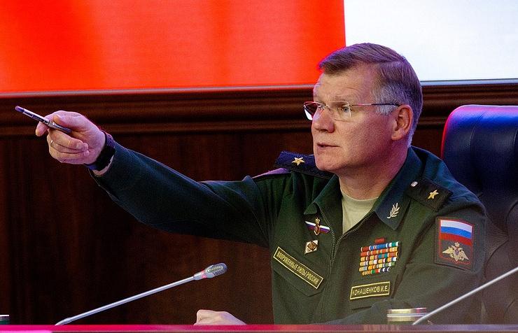 The official representative of the defense Ministry Igor Konashenkov