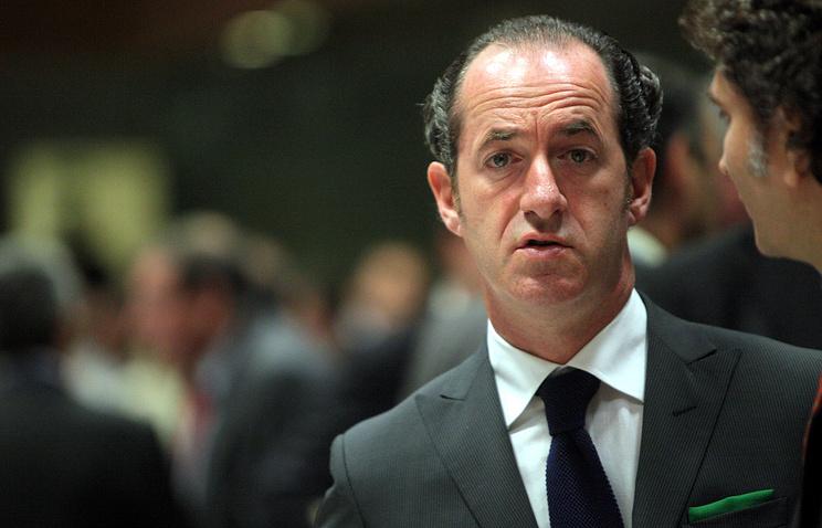 Veneto Governor Luca Zaia