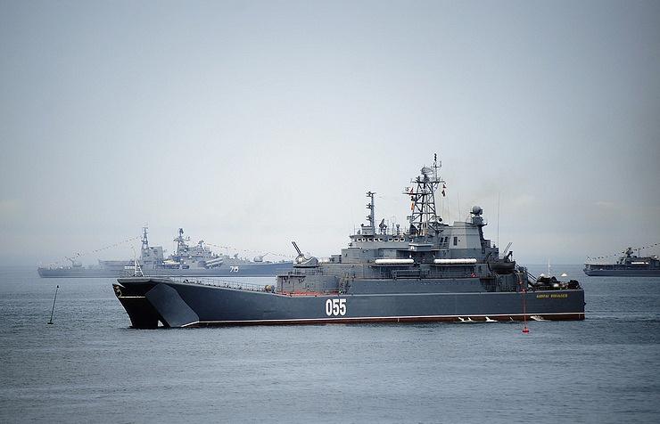 Amphibious ship Admiral Nevelskoy