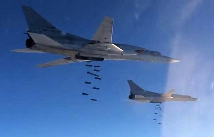Tu-22M3 bombers