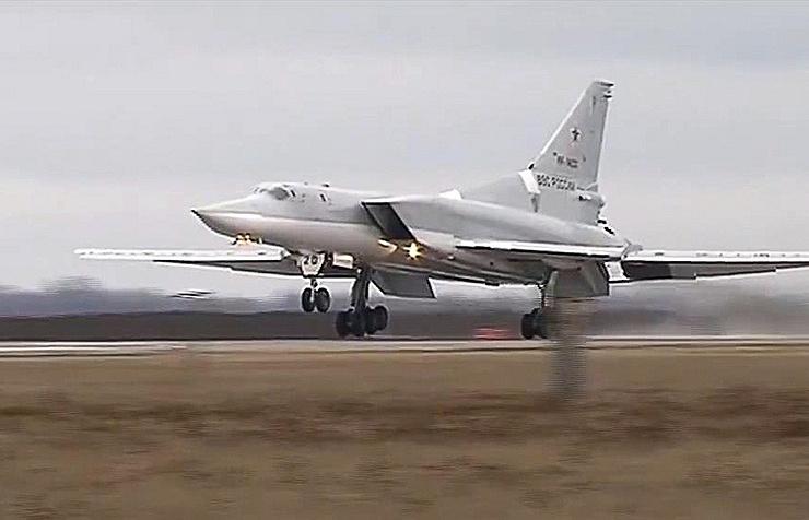Tu-22M3 long-range bomber
