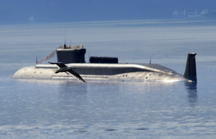 The Yuri Dolgoruky submarine